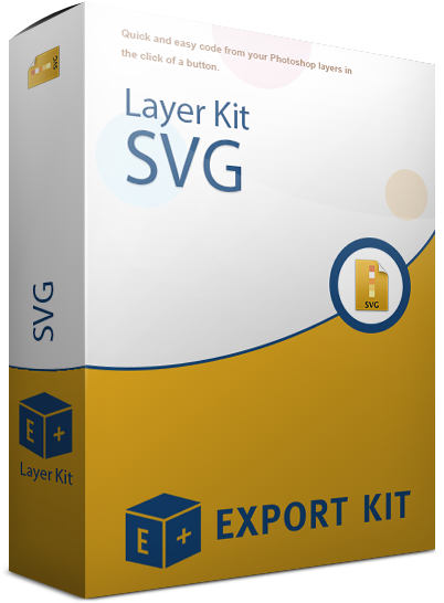 Svg layer. Photoshop psd layers to
