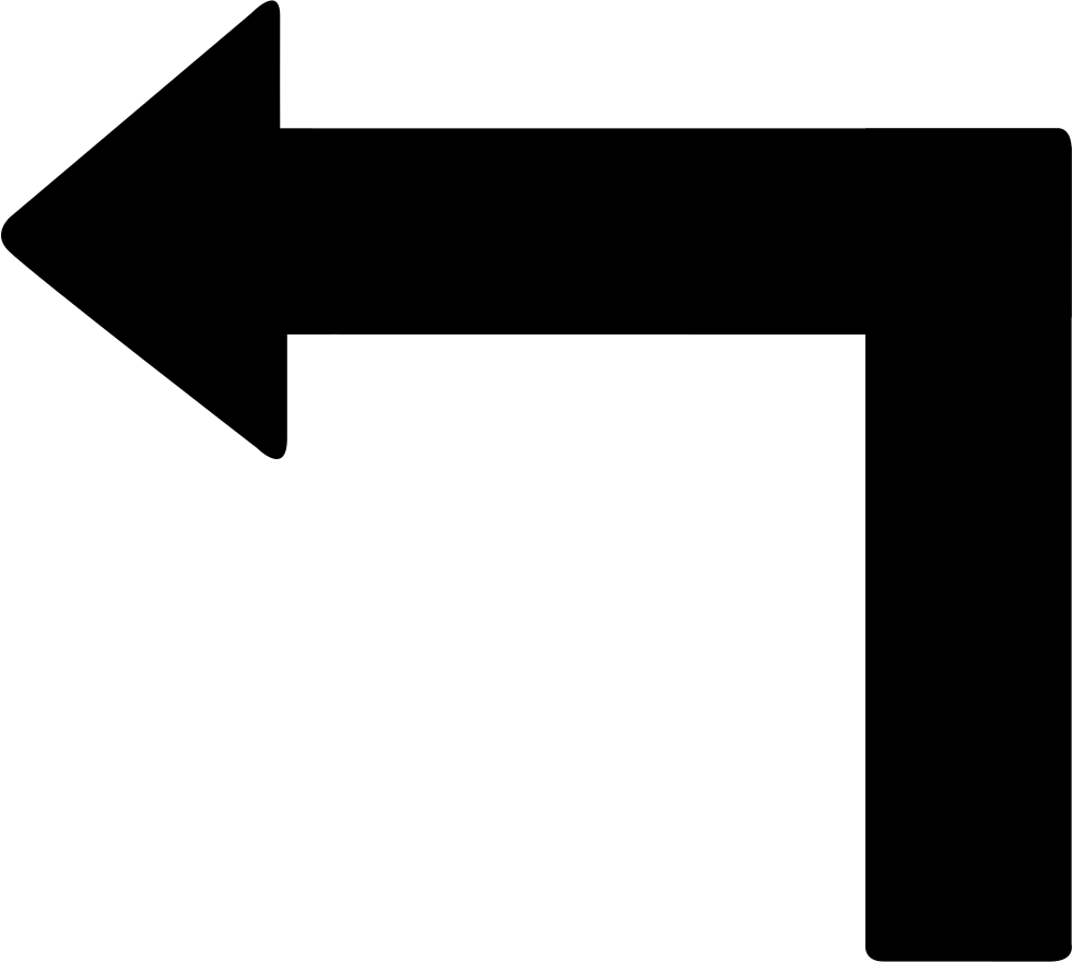 Convert png to ttf free download. Turn left arrow svg