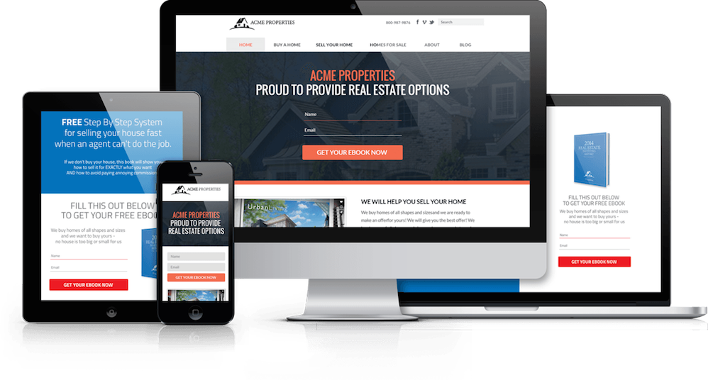 Convert website to png. Real estate themes choose
