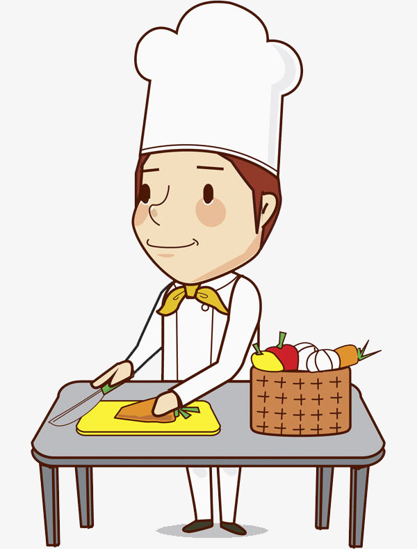 Cook clipart. Cartoon hand png image