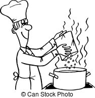 Cook clipart. Cooking stock illustrations clip jpg free stock