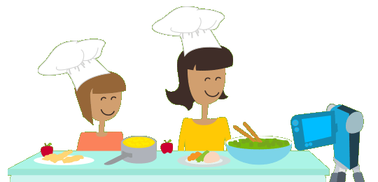 Cook clipart food competition. Hands on off contest