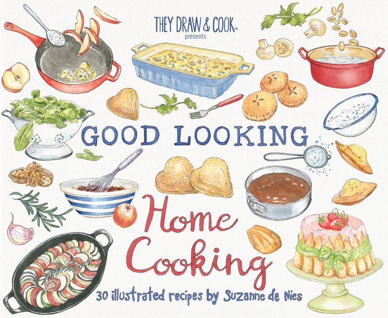Cook clipart food recipe. Shop they draw gorgeously