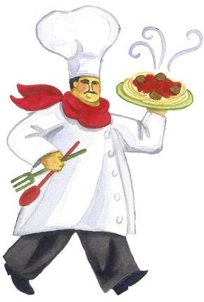 best chefs and. Cook clipart pasta chef freeuse library