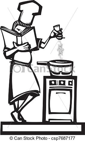 Stock illustrations clip art. Cookbook clipart graphic free