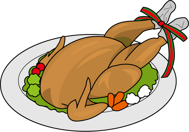 Cooked clipart. Turkey chicken png clipartpost