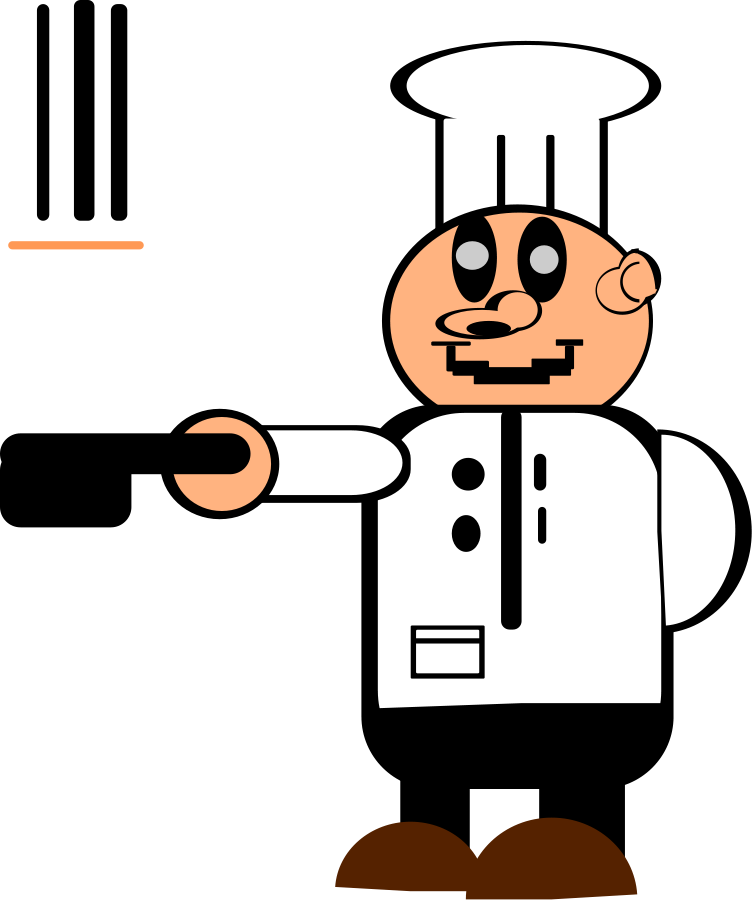 Utensils vector chef. Free pictures of people
