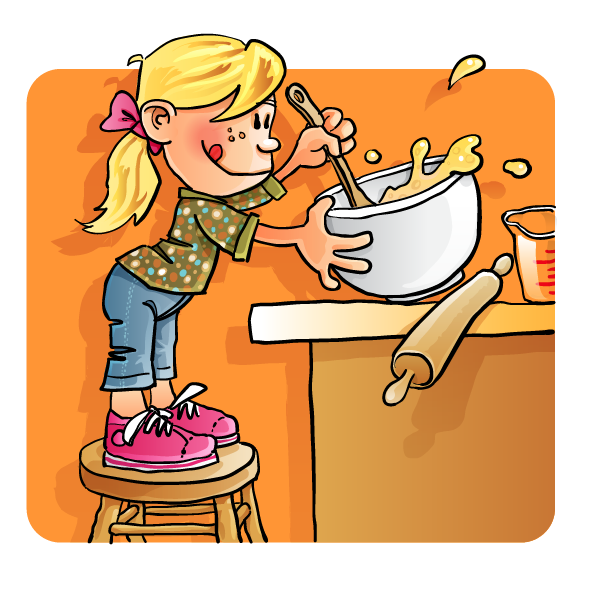 Cooked clipart mix food. Cooking contest smilingldsgirl s
