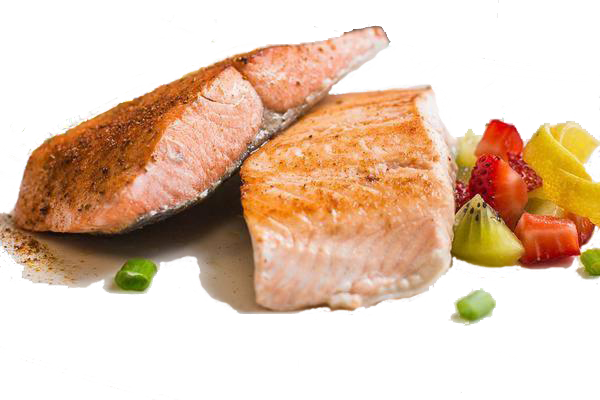cooked salmon png