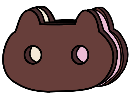 Cookie cat png. Prop by mikibandy on