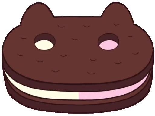Cookie cat png. Image cc cut out