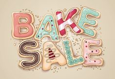 Cookie clipart bake sale item. Royalty free illustrations and