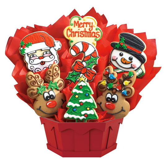 Cookie clipart basket cookie. Christmas sugar cookies bouquets