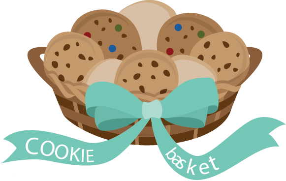 Cookie clipart basket cookie. Opens new location same