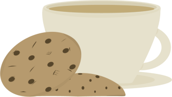 Cookie clipart coffee. And cookies clip art