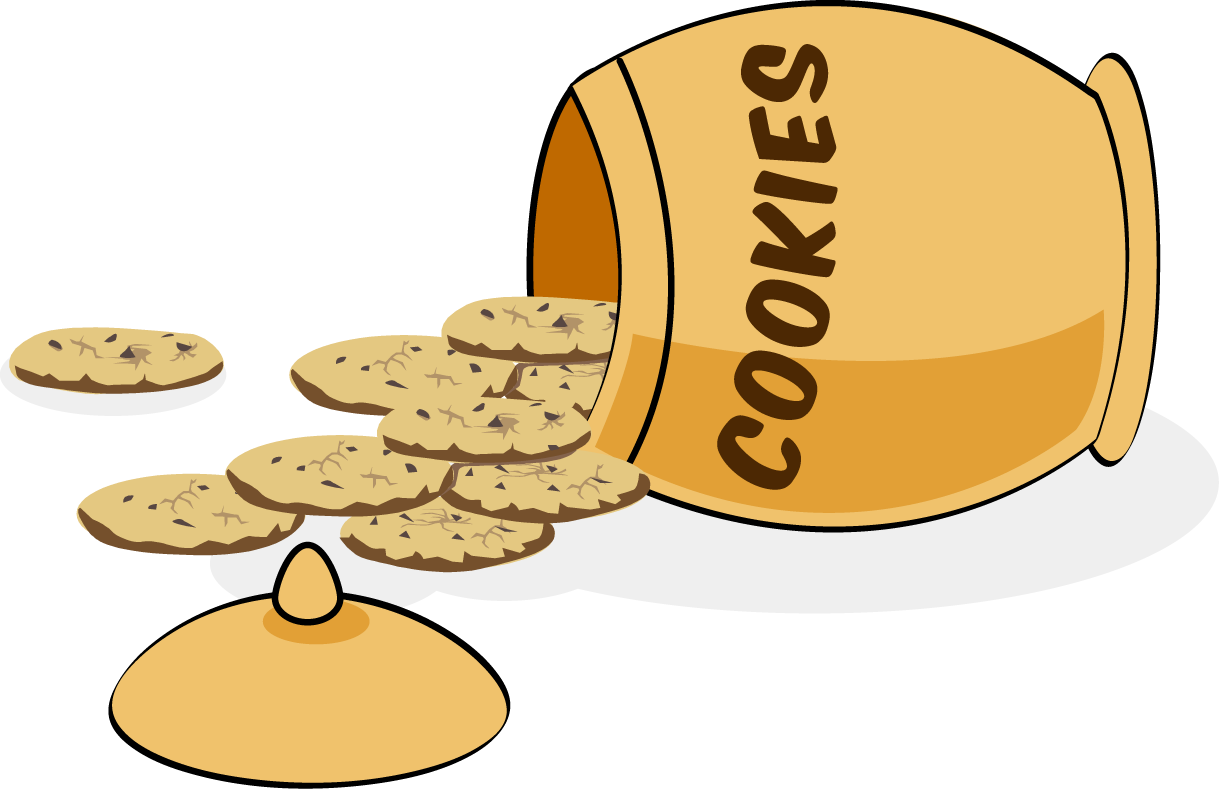 chip drawing cookie