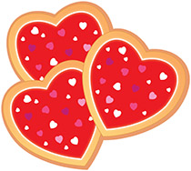 Cookie clipart heart. Search results for clip
