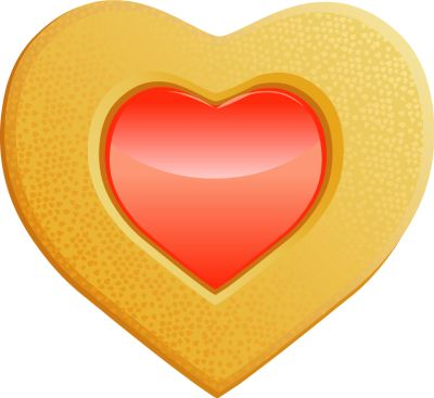 Cookie clipart heart. Best cookies images