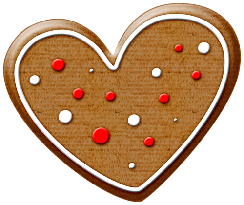 Cookie clipart heart. Christmas gingerbread clip art