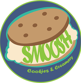 Cookie clipart ice cream sandwich. Smoosh sandwiches cookies catering