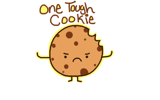 Cookie clipart one. Free tough cliparts download