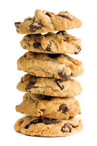 stack of cookies png