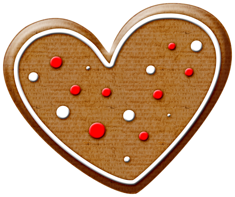 Cookie clipart valentines. Heart cookies clip freeuse