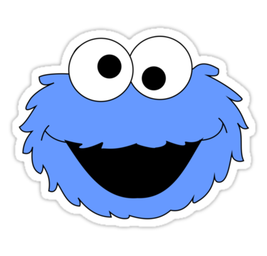 Cookie monster face png. Silhouette at getdrawings com