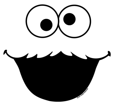 Cookie monster face png. Http teezeria com images
