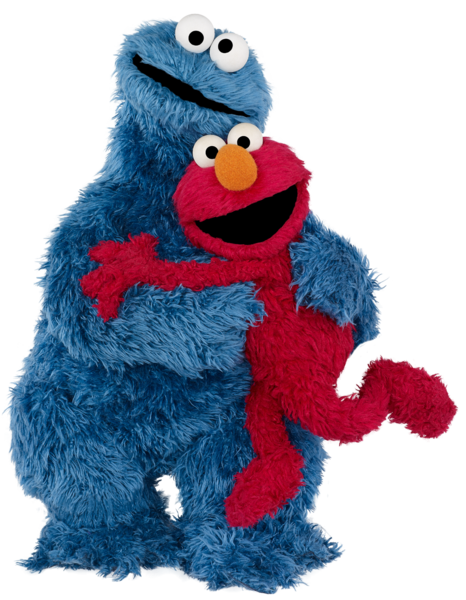 Png elmo. Image cookie monster muppet