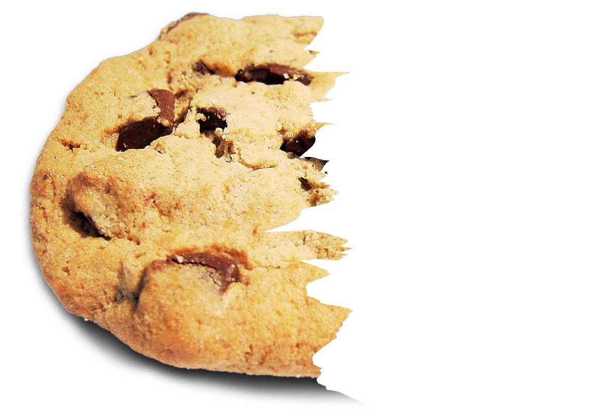 File choco chip wikimedia. Cookie png half eaten black and white stock