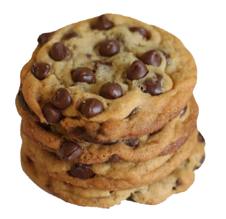Cookie png half eaten. Polyvore moodboard filler brown