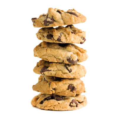 Stack of cookies png. Cookie single transparent stickpng