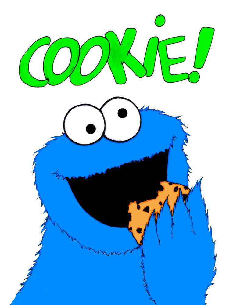 Cookies clipart cookie monster cookie. Clipartix