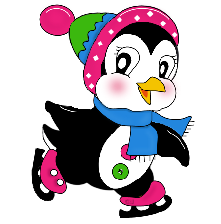 Penguin png winter. Clip art for cookies