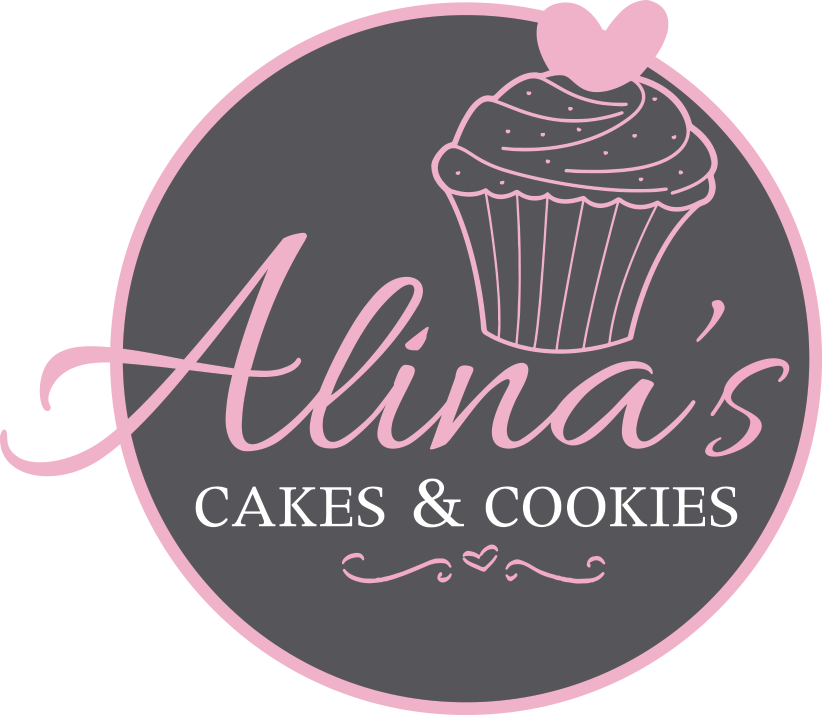 Cookies logo png. Alina s cakes and