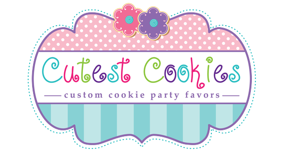 Cookies logo png. Cutest favors for weddings