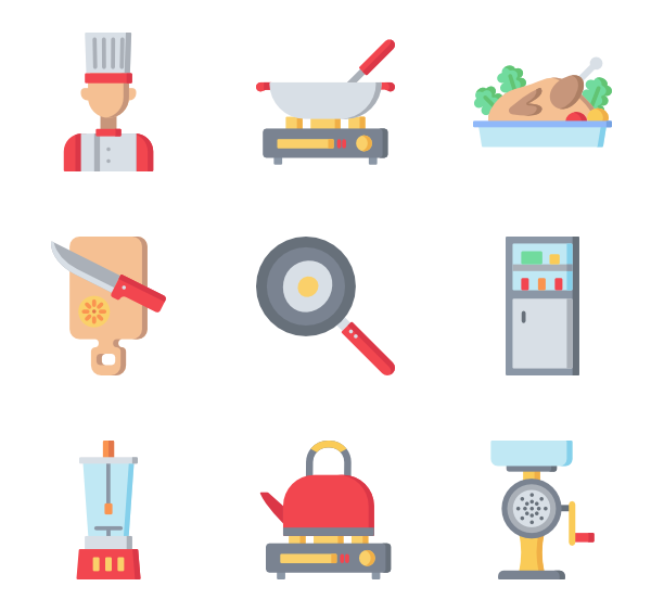 Cooking clipart cooking instruction. Time icons free vector