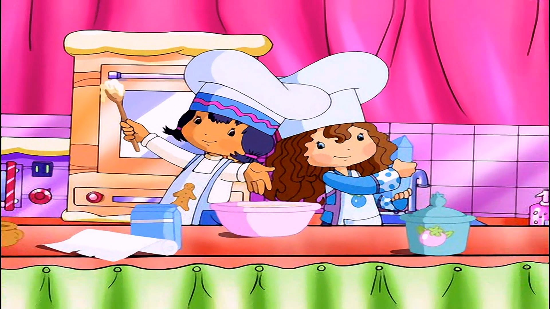 Cooking clipart cooking show. The strawberry shortcake youtube