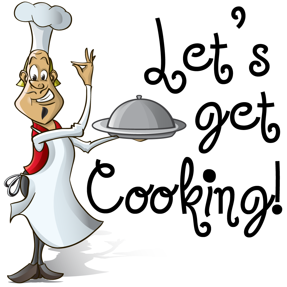 Cooking clipart cooking show. Lets get
