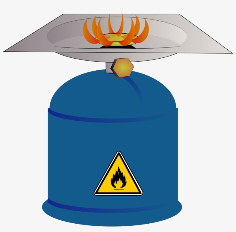 Cooking gas. Grill clipart camp stove