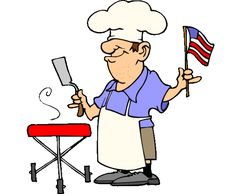Cookout clipart labor day. Bbq cartoon funny barbecue