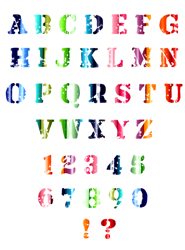 Cool alphabet fonts png. Letters by sodadnima on