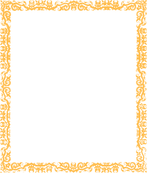 Cool border png. Gold clip art at