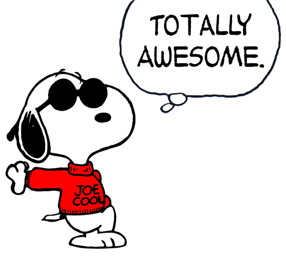snoopy joe cool png