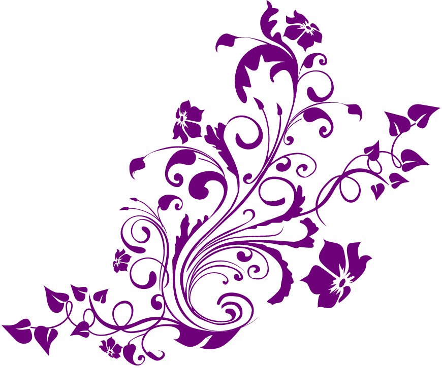 Vector flowers png. Cool designs transparent background