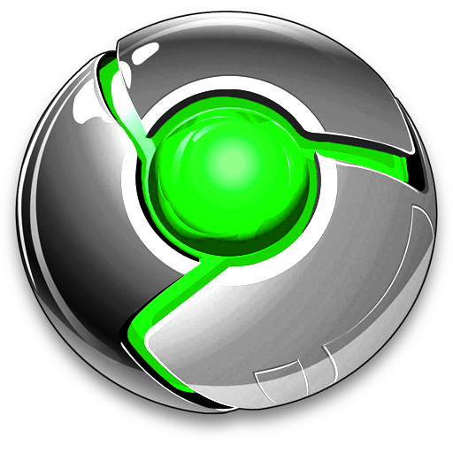 Cool google chrome logo png. Icon green by cameronsagey