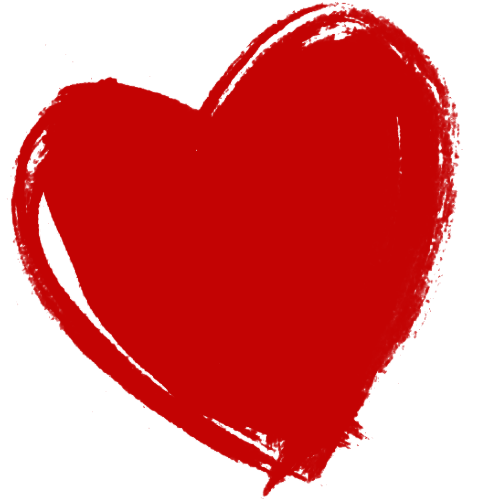 Hd heart transparent images. Red hearts png picture black and white