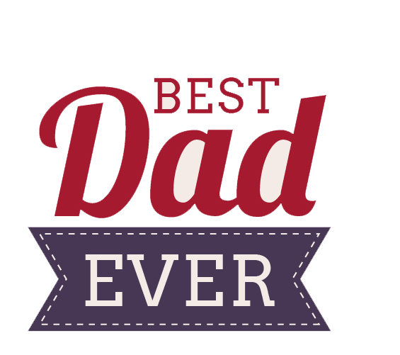 best dad ever design png