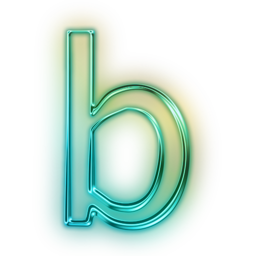 Cool letter b png. Save icon format free